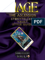 Mage the Ascension Storytellers Vault Style Guide