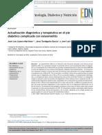 Actualización Diagnóstica y Terapéutica en El Pie Diabetico Complicado Con Osteomielitis