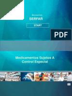 Medicamentos Sujetos a Control Especial