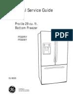 GE Refigerator PFSS9PKY-PFSS9SKY Rervice-Manual