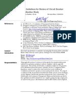Cálculo y Actualización Del Límite Térmico de Las Líneas de Transmisión en El Sistema de Potencia