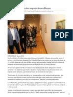 03-12-2018 Inaugura Gobernadora exposición en Musas - ElImparcial