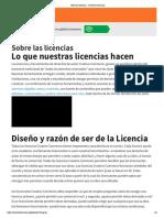Licencia Creative Commons