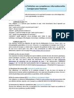 3- Consigne évaluation