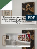 Jorge Miroslav Jara Salas - Una Muestra Recupera El Legado de Los Artistas Inmigrantes Que Llegaron a París Tras La Segunda Guerra Mundial, Parte I