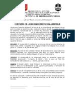 Contrato de Arbitraje