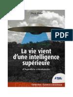 La vie vient d'une intelligence supérieure - Jean Sider