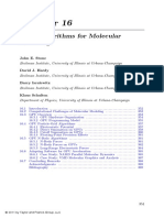GPU Algorithms for Molecular Modeling
