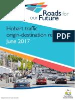 Hobart Traffic Origin-Destination Report June 20172