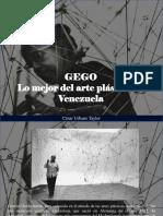 César Urbano Taylor - GEGO, Lo Mejor Del Arte Plástico en Venezuela
