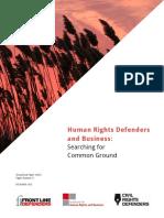 Informe Instituto de Derechos Humanos y Empresas