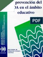 la prevencion del sida en el ambito educativo