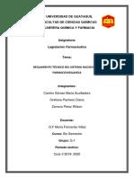 Farmacovigilancia -Objeto Legislación
