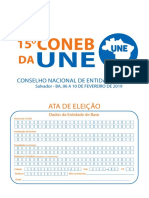 Ata Do 15º Coneb