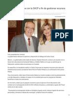 07-12-2018 Pavlovich se reúne con la SHCP a fin de gestionar recursos para Sonora - SDP Noticias