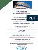 Outil de Communication - Flyer Conférence