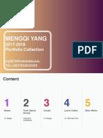 Portfolio MengqiYang