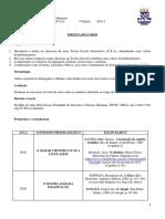 EMENTA DE TEORIA SOCIAL ALTERNATIVA (T.S.A)- 4ª EDIÇÃO