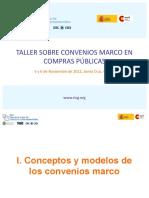 Presentaciones Taller Convenios Marco