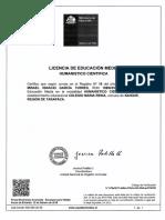 Licencia 4° Medio