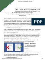 7 Steps for SAP Fixed Assets Migration – SAP Expert