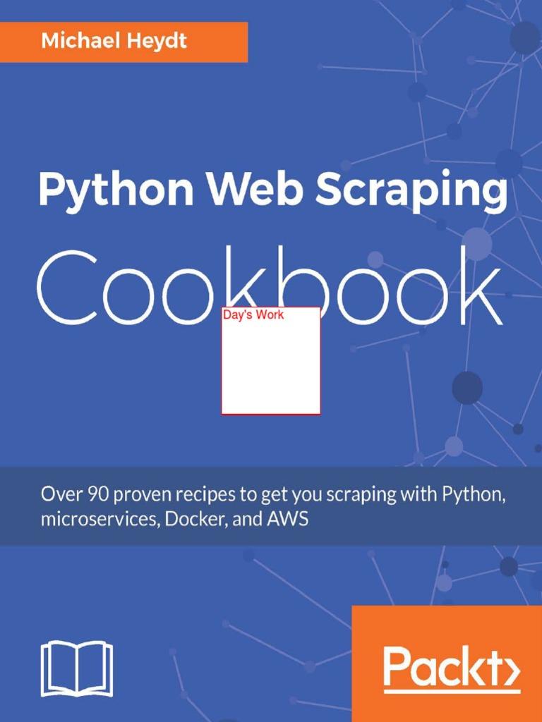 Python Web Scraping Cookbook | E Books | Cloud Computing