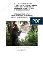 Phillips Grizzly Bear-Salmon Ecosystem Report 2014