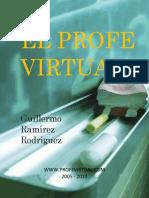 El Profesor Virtual en Las Instituciones  Ccesa007