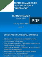 11ma. Clase - Ciclos de Potencia de Vapor y Combinados_Resumido.ppt