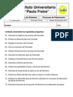 III Examen Parcial Procesos de Fabricación