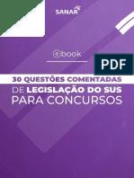 e Book 30 Questoes Comentadas de Legislacao Do Sus Sanar.original