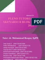 Pleno Tutorial Skenario b Blok 20 2018