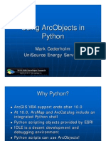 Python Arc Objects