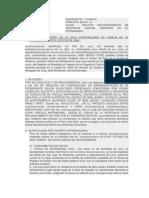 Solicita Reconocimiento de Sentencia Judicial Expedida en El Extranjero.