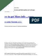 Effet Second a Ire Noroxin and Information Sur La Drogue Noroxin