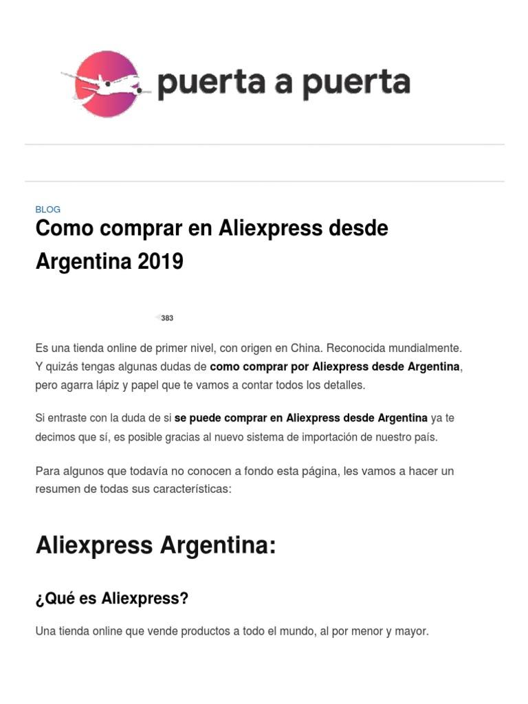 1fdcb6ec ▷ Aliexpress Argentina_ Como comprar ¡Y QUE LLEGUE SEGURO!