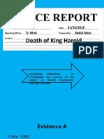 Harold Death