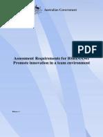 BSBINN301_AssessmentRequirements_R1