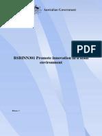 BSBINN301_R1