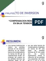 Proyecto de Inversion Compensacion en b.t.