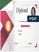Diploma Mihai Eminescu 2