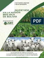 Apertura de la frontera agrícola en el Beni (Bolivia)