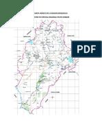 Mapa Hidrico de La Region Moquegua
