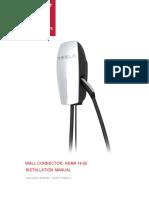 Wallconnector NEMA 14-50 en Us