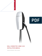 Wallconnector NEMA 14-50 en Us