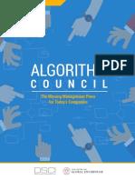 Algorithm Council DSCI 2018