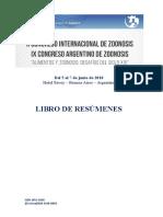 Resumen de investigación sobre zoonosis