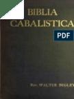 """Biblia Cabalistica"" Walter Begley (English-1897)"