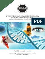 1ras Jornadas Nacionales de Ensenanza de Farmacia y Bioquimica