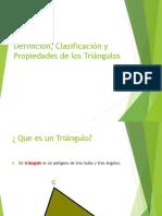 Clasificación Triángulos y Propiedades